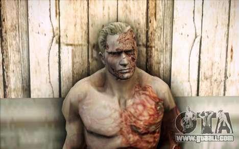 An Infected Krauser for GTA San Andreas third screenshot