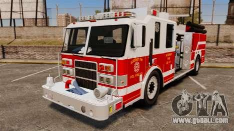 Firetruck Alderney [ELS] for GTA 4