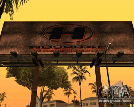 New HD Hospital for GTA San Andreas second screenshot