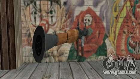 The RPG-7 for GTA San Andreas second screenshot