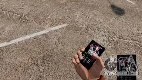 Theme for Armin Van Buuren phone for GTA 4