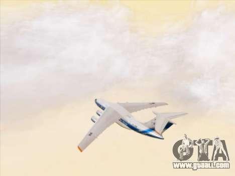 Il-76td-90vd to Volga-Dnepr for GTA San Andreas upper view