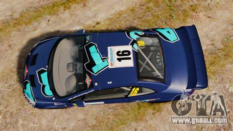 Peugeot 307 WRC for GTA 4 right view