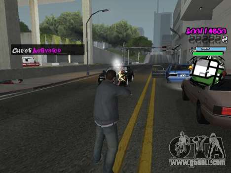 HUD for GTA San Andreas tenth screenshot