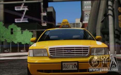 Ford Crown Victoria LA Taxi for GTA San Andreas