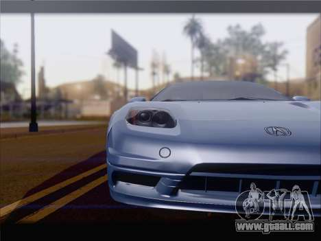 Acura NSX for GTA San Andreas left view