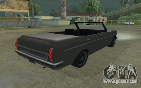 Perennial Cabriolet for GTA San Andreas back left view