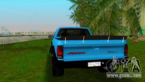 GMC Cyclone 1992 for GTA Vice City left view
