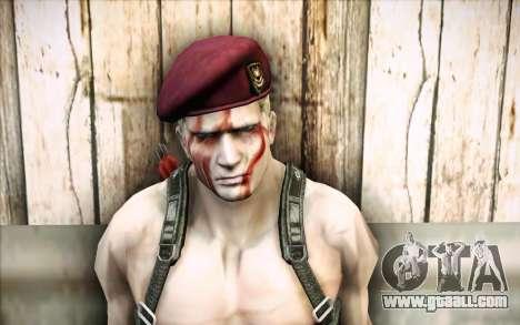 Jack Krauser Mercenary for GTA San Andreas third screenshot