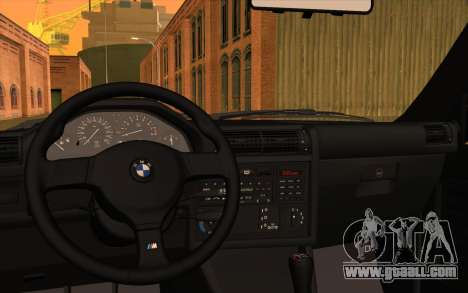BMW M3 E30 Stock Version for GTA San Andreas inner view