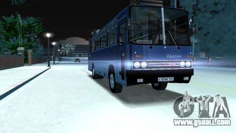 IKARUS 255 for GTA Vice City back left view
