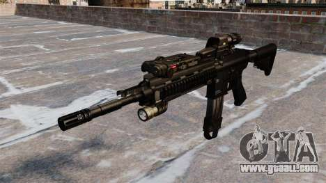 Automatic Colt M4A1 carbine for GTA 4
