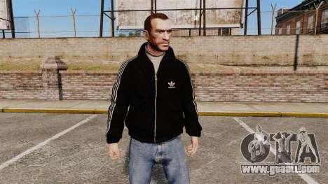 Olimpijka-black Adidas Originals- for GTA 4