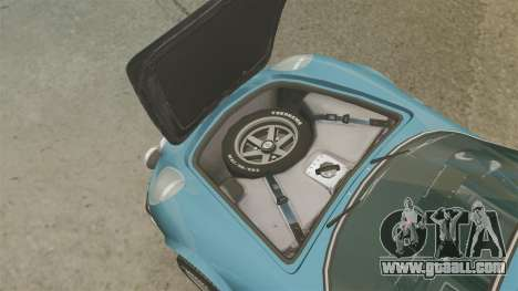 Renault Alpine A110 1600 S for GTA 4 inner view
