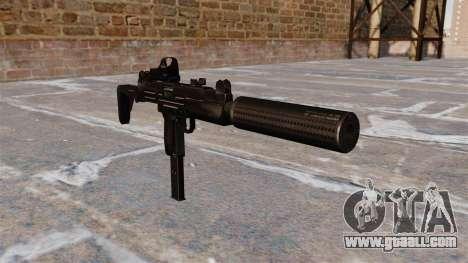 Uzi submachine gun Tactical for GTA 4