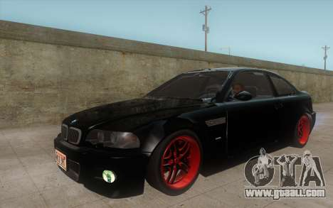 BMW M3 e46 Duocolor Edit for GTA San Andreas left view