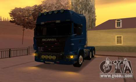 Scania Topline R730 V8 for GTA San Andreas right view