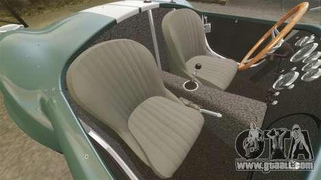 Shelby Cobra 427 SC 1965 for GTA 4 inner view