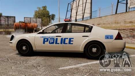 Pinnacle Police LCPD [ELS] for GTA 4 left view