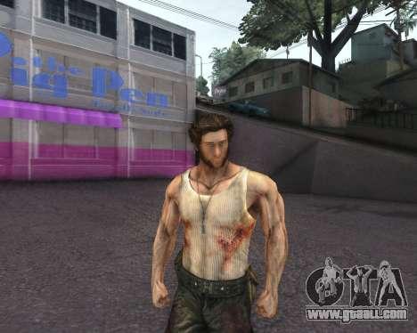 X-men Origins: Wolverine [Skins Pack] for GTA San Andreas second screenshot