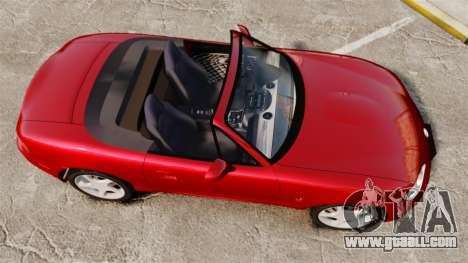 Mazda (Miata) MX-5 for GTA 4 right view
