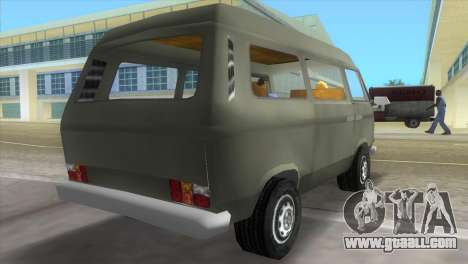 Volkswagen Transporter T3 for GTA Vice City left view