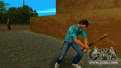 Baseball bat from GTA IV for GTA Vice City second screenshot