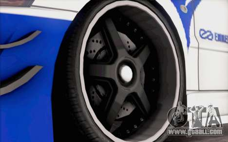 Mitsubishi Lancer Evolution IIIX for GTA San Andreas right view