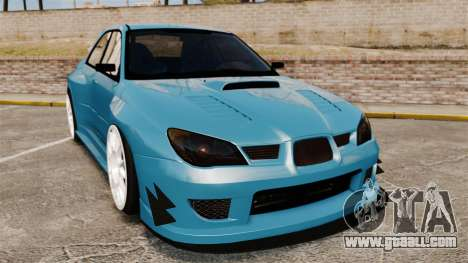 Subaru Impreza HD Arif Turkyilmaz for GTA 4