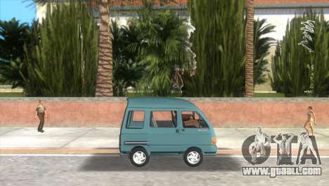 Kia Towner for GTA Vice City left view