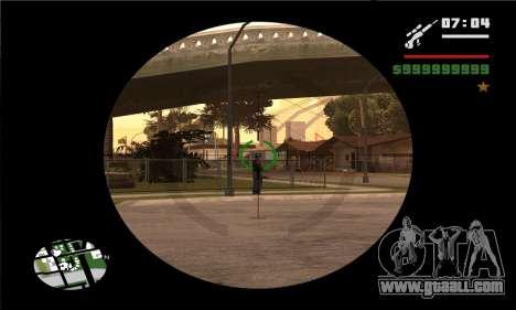 GTA V Sniper Scope for GTA San Andreas forth screenshot
