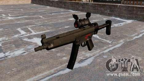 Submachine gun HK MR5A3 for GTA 4
