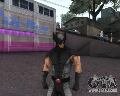 X-men Origins: Wolverine [Skins Pack] for GTA San Andreas eighth screenshot