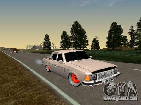GAZ 3102 Stance for GTA San Andreas