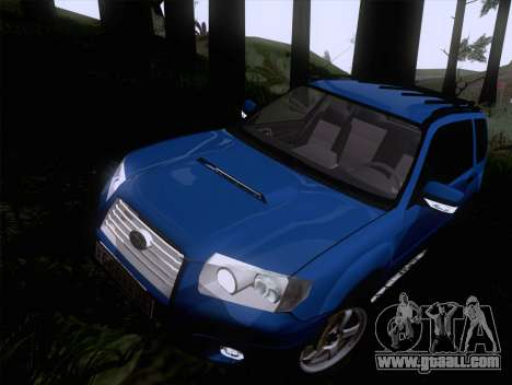 Subaru Forester 2.5XT 2005 for GTA San Andreas