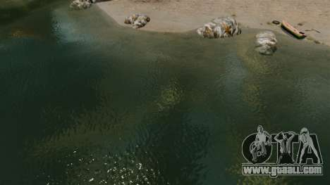 The new color of sea water for GTA 4