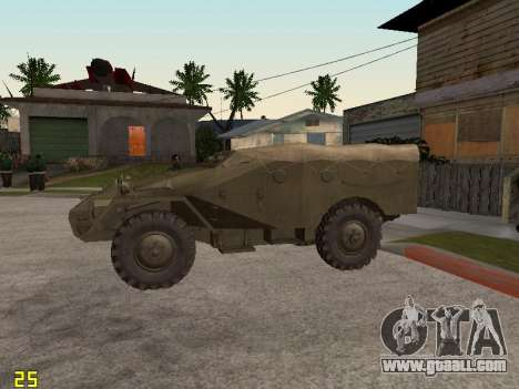 BTR-40 for GTA San Andreas left view