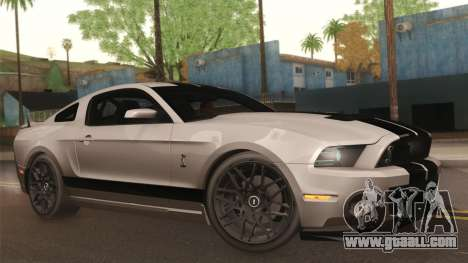 Ford Shelby GT500 2013 for GTA San Andreas side view