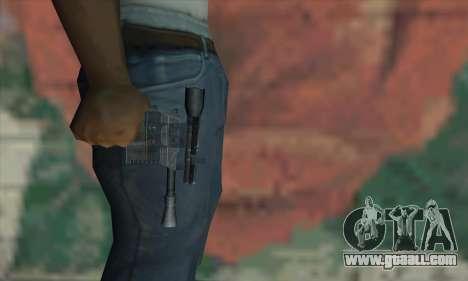 Blaster from Star Wars for GTA San Andreas third screenshot