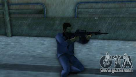 M4 from the XBOX version for GTA Vice City
