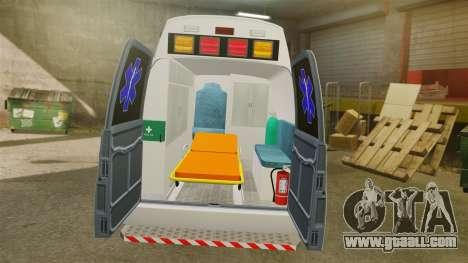 Vapid Speedo AMR [ELS] for GTA 4 back view