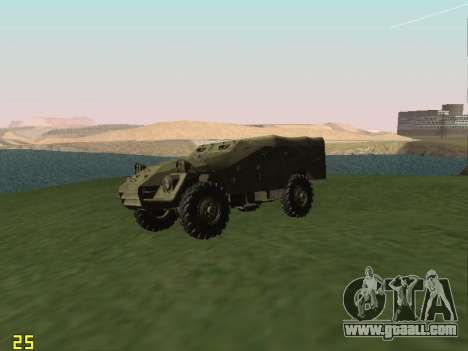 BTR-40 for GTA San Andreas back view