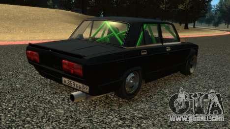VAZ 2105 for GTA 4 inner view