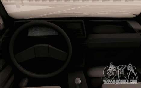 Volkswagen Jetta MK1 for GTA San Andreas right view