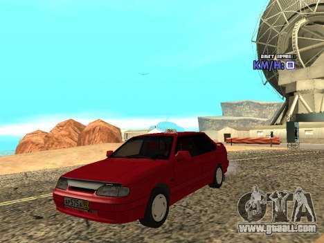 VAZ 2115 Taxi for GTA San Andreas