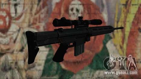 Snajperckaâ rifle Black for GTA San Andreas second screenshot
