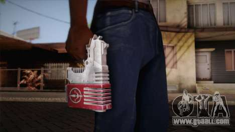 Magnum Pistol for GTA San Andreas third screenshot