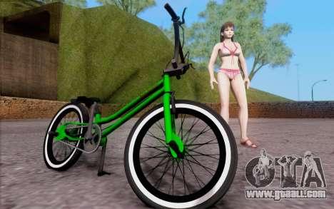 BMX Rebaixada for GTA San Andreas