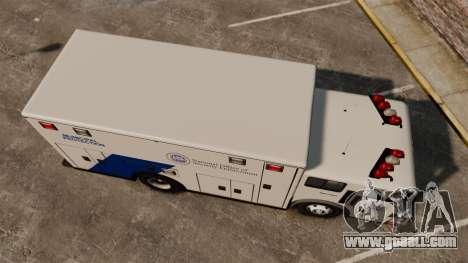 Hazmat Truck NOOSE [ELS] for GTA 4 right view