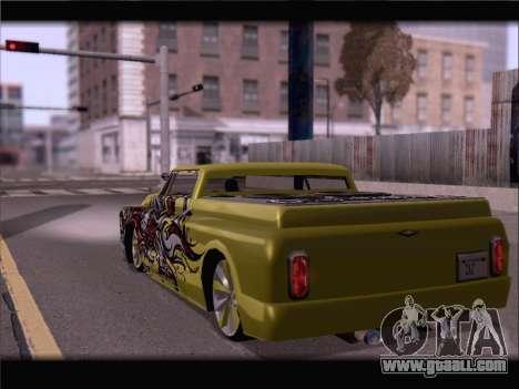 New Slamvan for GTA San Andreas left view